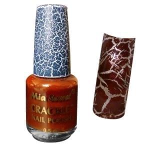 Mia Secret Crackle Nagellak Brown | Cosmetica-shop.com