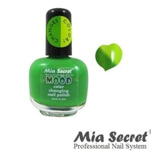 Mia Secret Mood Nagellak Green-Yellow | Cosmetica-shop.com