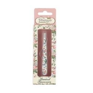 The Vintage Cosmetic Company Slanted Tweezer Floral | Cosmetica-shop.com